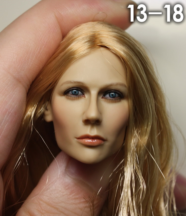 1/6 scale female head shape for 12 action figure doll accessories doll head carved not include the body,clothes and other 3-18 1 6 figure doll head shape for 12 action figure doll accessories game of death bruce lee head carved not include body clothes