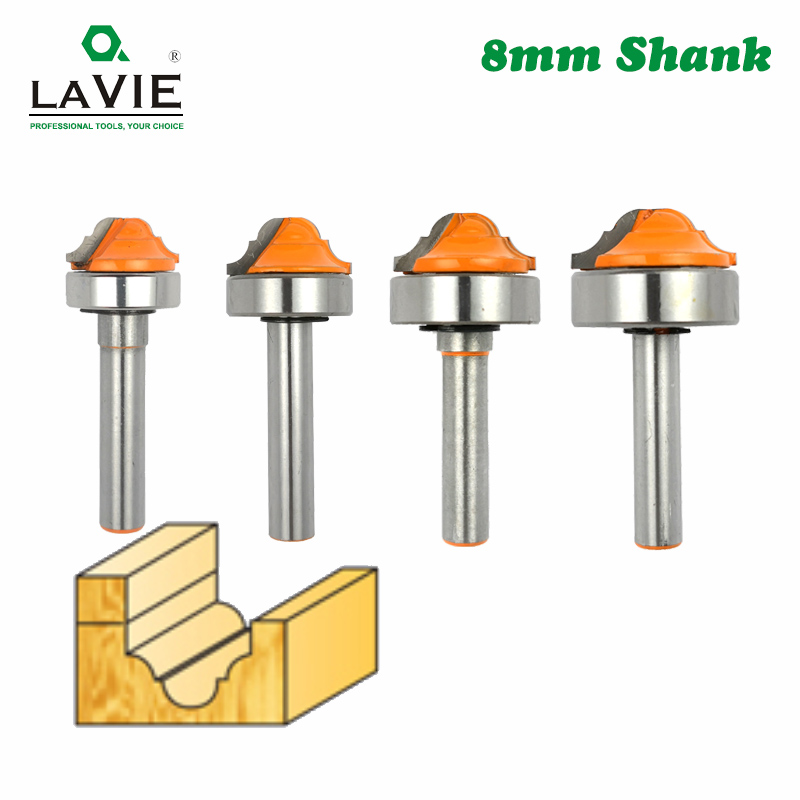 8MM Glass Door Trimming Router Bit Wood Engraving Groove Tenon Milling Cutter