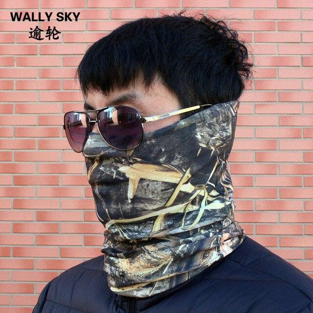 Hunting Military Camouflage Head Face Mask Neck Multi-wear Tube Bandana  Durag Scarf Head Wrap 0467070d8