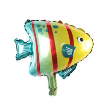 Mini fish balloon balloons Children's Toys Decoration Foil Balloons Birthday&Party Party balloon(China)