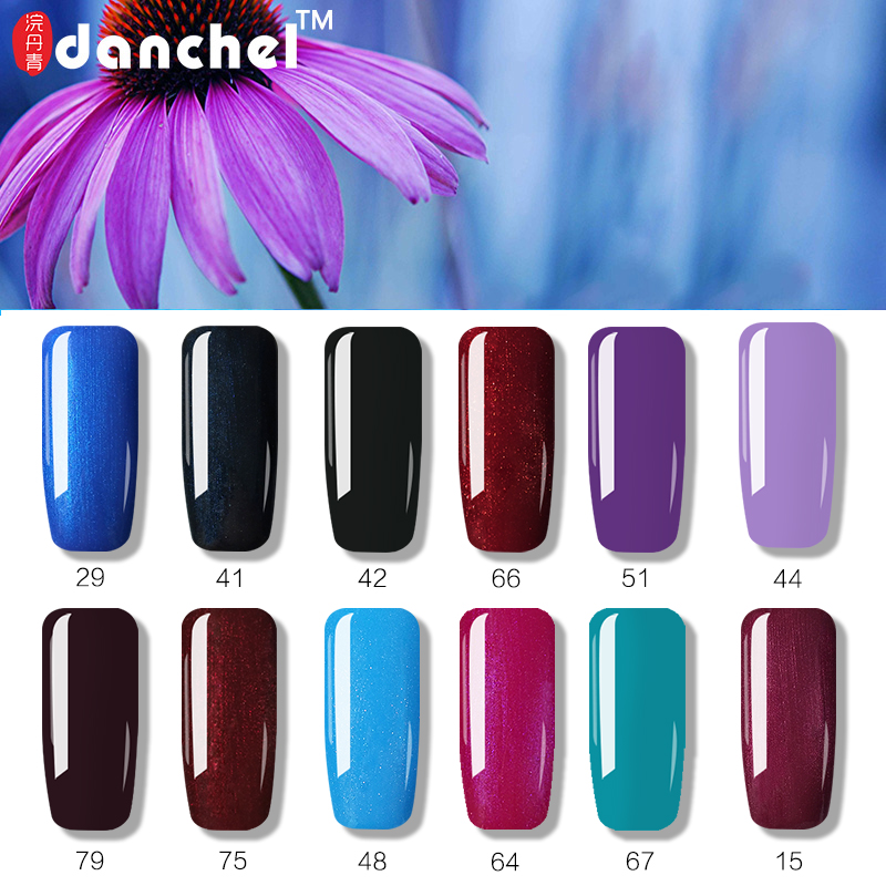Danchel Gelpolish Nail Gel Soak Off UV Gel Polish Barniz 79 Pure - Arte de uñas - foto 2