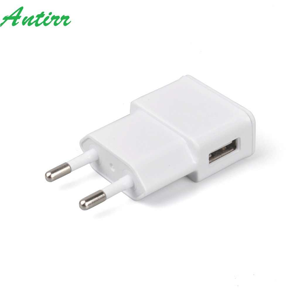 Baru Uni Eropa Plug Adaptor 5V 2A Uni Eropa USB Dinding Charger Mobile Phone Charger untuk Galaxy S5 Note4 N9000 Ponsel charger Telepon Biaya Cepat