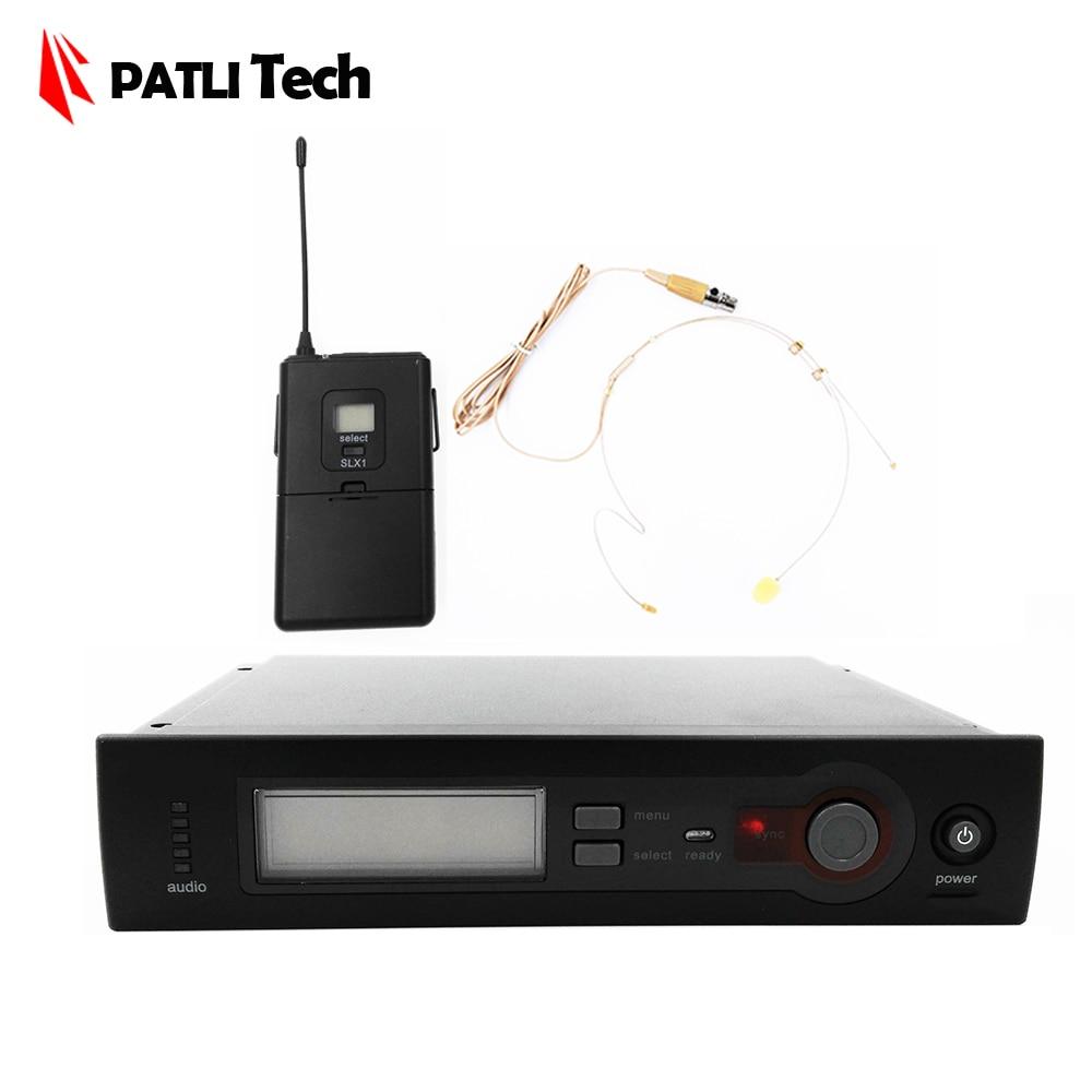 все цены на Best headset Wireless Microphone System Wireless UHF, SLX 14 KTV, frequency range 572 596MHz 638 662MHz 800 820MHz, 110v / 220v онлайн