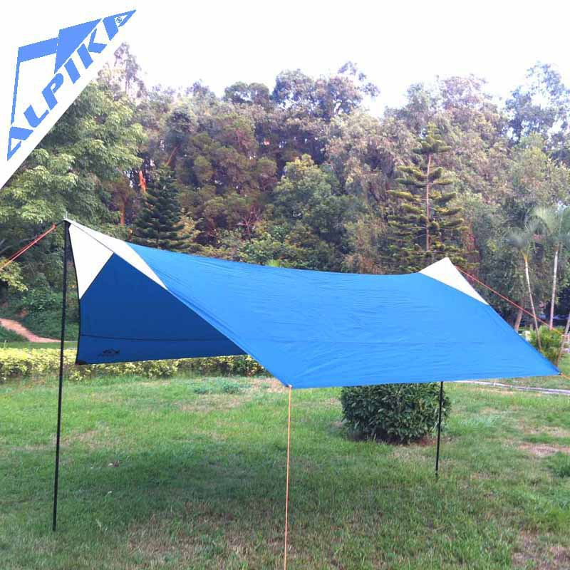 Hot sale high quality Tarp 4X4M multi purpose Tarpaulin as sun shelter for c&ing canopy tent c&ing gear-in Tents from Sports u0026 Entertainment on ... & Hot sale high quality Tarp 4X4M multi purpose Tarpaulin as sun ...