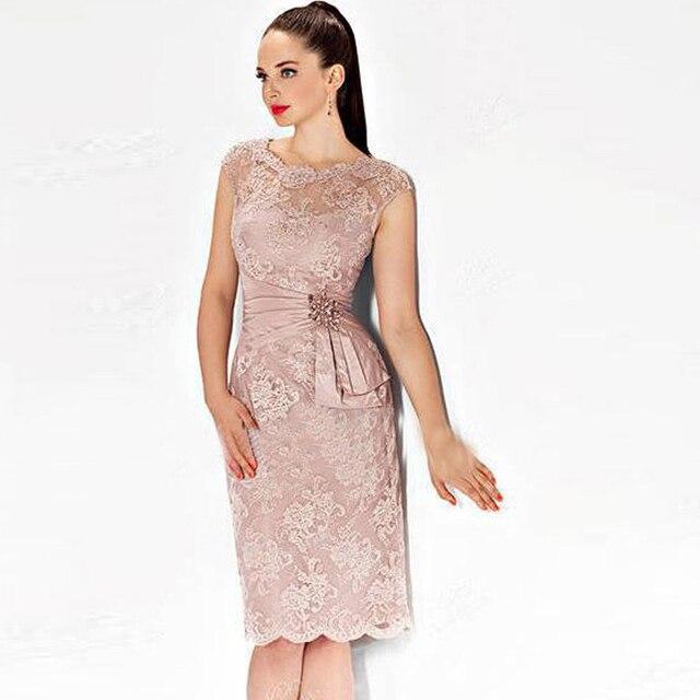 Elegant Pink Sexy Cortos Vestidos de Noche 2015 Nuevas llegadas de ...