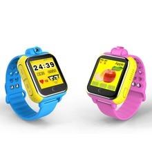 Envío gratis smart watch bebé reloj 3g gprs gps localizador rastreador Anti-perdida Bebé Reloj Con Cámara tanto para Andriod y IOS