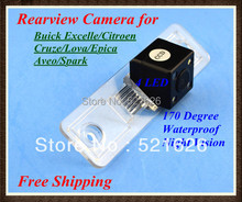 Waterproof Special 4LED CCD Car Rear view camera for . Excelle/Citroen/Cruze/Lova/Epica/Aveo/Spark