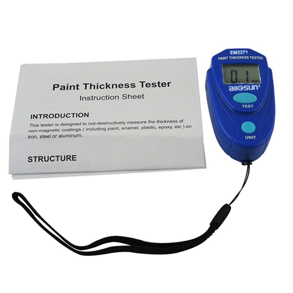 Medidor de calibre de pintura de revestimiento 0 ~ 2.0 mm Espesor de - Instrumentos de medición - foto 2