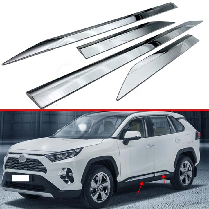 Bishop Tate Matte Interior Dashboard Display Panel Frame Decoration Cover Trim ABS Car Accessories 1PC for Toyota RAV4 XA50 2019 2020