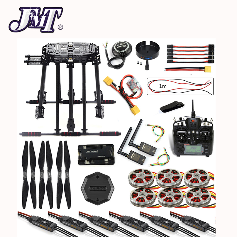 все цены на JMT DIY Drone Frame Kit APM2.8 Flight Control M8N GPS with Flysky TH9X Remote Control 3DR Telemetry Motor ESC for FPV Hexacopter онлайн