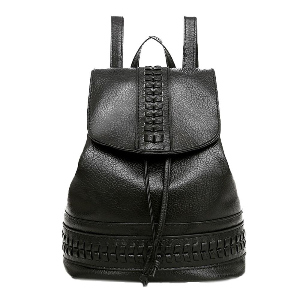 OCARDIAN Bag Fashion Women Girl Fresh Travel Backpack Ladies Leisure Student  Schoolbag Soft High Quality Leather Mochila May16