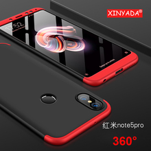 ФОТО xinyada for xiaomi 6x mi6x mi a2 mia2 case 360 full protection + ultra thin cover shell bag for redmi note 5 pro note5 pro ai