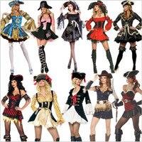 Mulheres Sexy Adulto Traje Do Pirata de alta qualidade Carnaval mance Cosplay Fancy Dress New Plus Size Trajes de Festa do Dia Das Bruxas