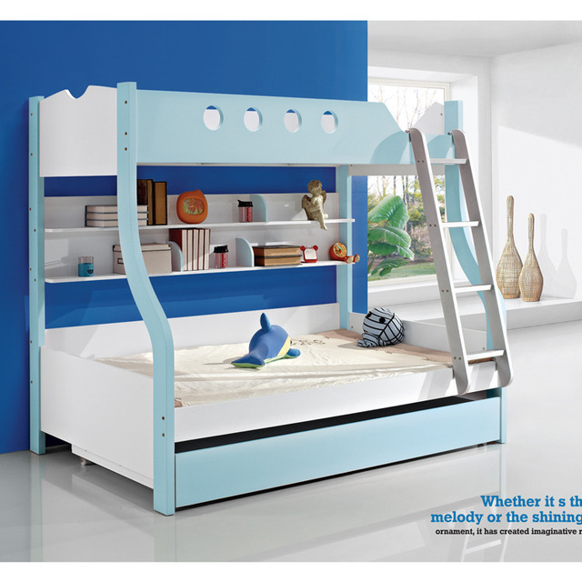 Foshan Lee Fu Jia Combination Bunk Bed Trailer Low Bed Bedroom