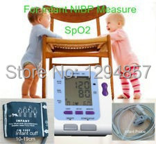 Free shipping CONTEC Infant Blood Pressure Monitor  with SPO2 ,NIBP+SP02+Pulse Rate,blood pressure monitor with pulse oximeter