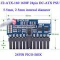 Z2-ATX-160W power line DC-ATX питания высокой мощности 24pin miniITX DC питания ATX PICO BOX DC-ATX PSU
