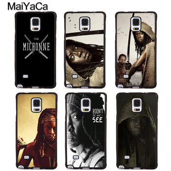 The Walking Dead Michonne Case For Samsung A21S A20e A71 A51 A10 A40 A50 A70 Galaxy S20 Plus S10 S9 Note 20 Ultra image