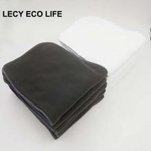 Lecy Eco Life Супер Абсорбент Многоразовые взрослых тканевые подгузники, вставка, 20*49 см моющиеся подгузники для взрослых и приносим свои извинения за доставленные неудобства Штаны вкладыш