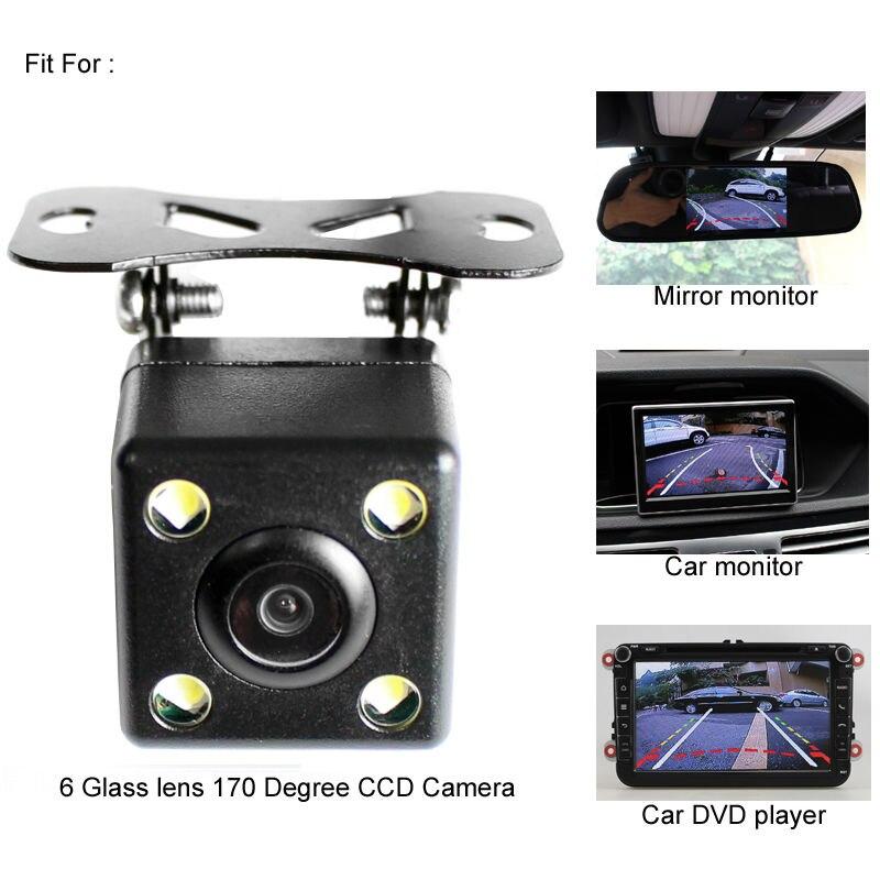 Image 2 - インテリジェントダイナミック軌道トラックのリアビューカメラのhd ccd逆バックアップカメラ自動反転駐車支援 -    グループ上の 自動車