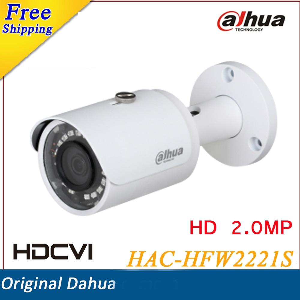 ФОТО DAHUA Security Camera CCTV 2MP FULL HD WDR HDCVI IR Bullet Camera IP67 Without Logo HAC-HFW2221S