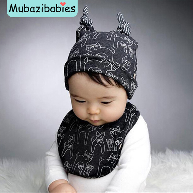 01dcff12a87 Baby Boy Cotton Hat Cat Warm Baby Beanie Cozy Piece Fitted Kids Hats Lovely  Boy Hat