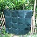 Подвесной Настенный 16 карманов Вертикальная садовая сеялка настенный PE домашний Садовый цветок посадки сумки для дома