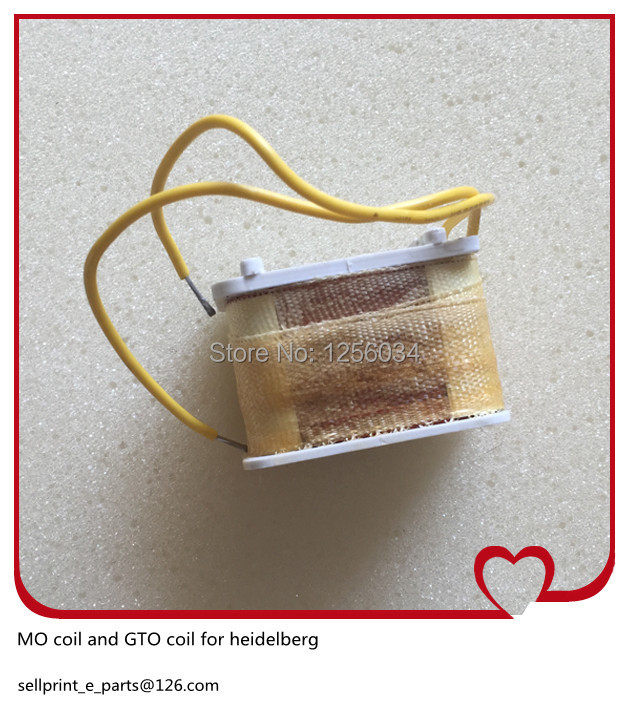 5 piece free shipping Coil for Heidelberg GTO MO close before the pressure regulation solenoid coil 220V coil Heidelberg