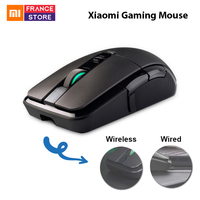 Original Xiaomi Gaming Mouse Wireless Mouse RGB Light DPI Programming 7200 Dual Mode Wireless Mouse Dota Mouse Gamer Overwatch