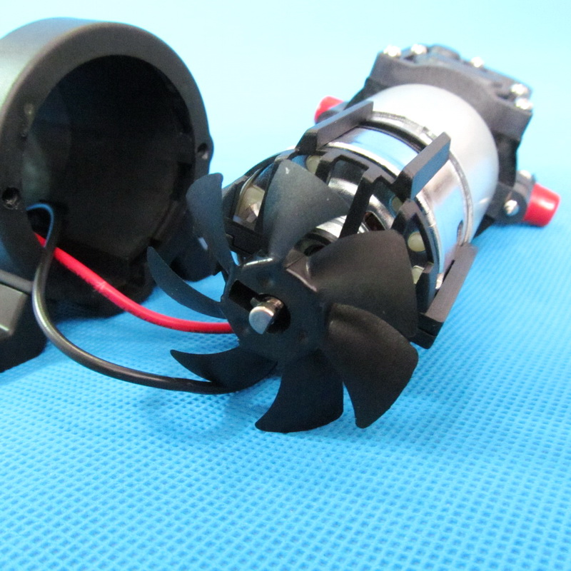 130PSI 5 5l min 80w return valve type with cooling fan dc 12v micro diaphragm pump in Pumps from Home Improvement