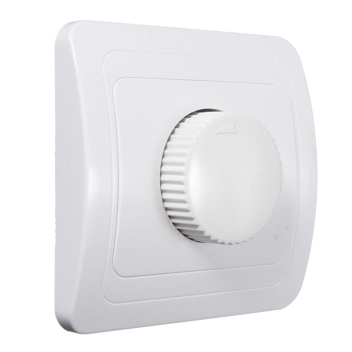 Dimmer Licht & Beleuchtung 220 V/250 V Einstellbare Controller Dimmer Schalter Für Dimmbare Glühbirne Lampe Weiß Ein Unverzichtbares SouveräNes Heilmittel FüR Zuhause