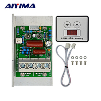 AC 220V 10000W SCR Voltage Regulator Speed Control Dimming Dimmers Thermostat