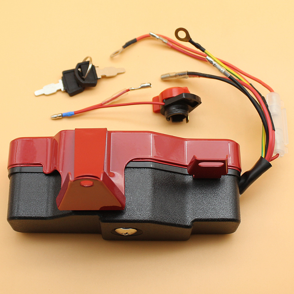 Tools : Ignition Switch Box With Keys Fit HONDA GX 160 200 CHINESE 168F 5 5HP 6 5HP Engine Motor Gasoline Generator