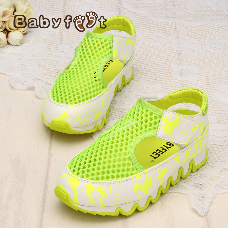 Babyfeet Children Sandal 2017 Summer baby Girl Sandals children casual shoes Toddler Kids 0-6 year old Children breathable shoes babyfeet summer cool toddler shoes 0 2 year old newborn baby girl