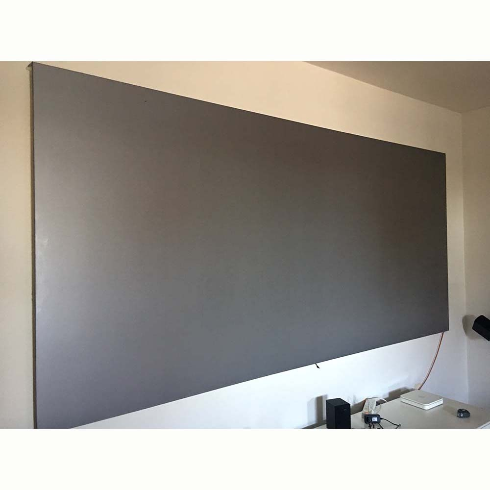 60 100 120 inch Projector Screen 16:9 4:3 Reflective Fabric Projection Screen For XGIMI H1 H2 UNIC LED Projector DLP Proyector support for customfree shipping 120 inch projector mount screen 16 9 gf grey
