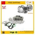 ZONGSHEN W155 150cc 155cc 160cc motor cilindro de pistón pin anillo junta DHZ HK160R piterspro KAYO xmotos EEB suciedad pit bike partes
