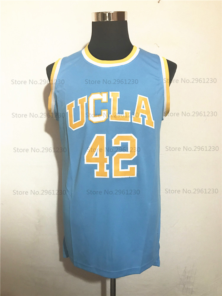 441e699e5c4 ... canada cheap mens ucla bruins college basketball jersey 42 kevin love  blue embroidery logos stitched jerseys