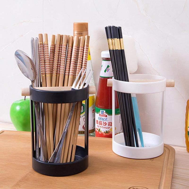 1pc Kitchen Tableware Knife Fork Spoon Storage Box Drain Chopsticks Cage Cutlery Kitchen Tools Holder #20