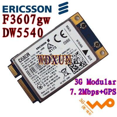 Ericsson Dw5540 F3607gw 3g 2g Gsm Hsdpa Wcdma Wireless Wwan Wlan Card Gps H039r 5pj87 C680rinternal