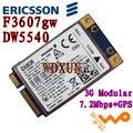 Ericsson dw5540 f3607gw 3g/2g gsm wcdma hsdpa sem fio cartão wlan gps h039r wwan 5pj87 c680rinternal pci-e laptop módulo de rede