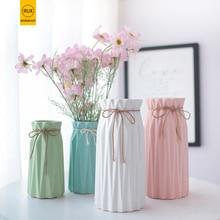 Nordic Simple Diamond Vases for flowers pour fleurs homes Weddings Porcelain Modern Fashion Ceramic Corridor decorati