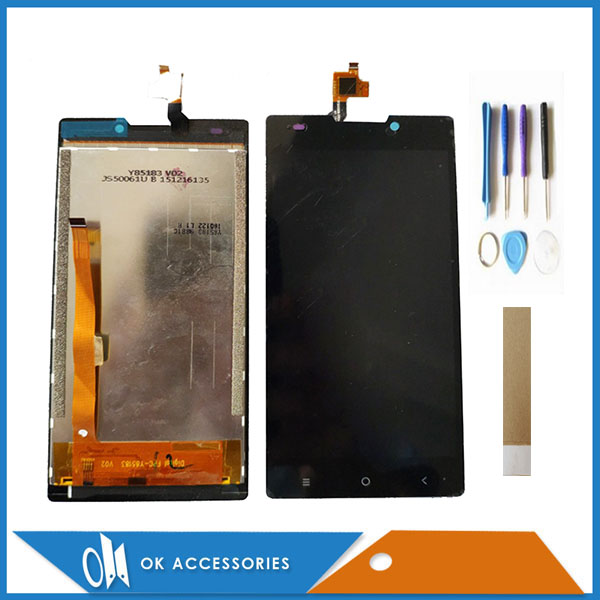 5.0 Inch For Haier Terra T53P LCD Display With Touch Screen Digiziter Assembly High Quality Black Color With Tools Tape5.0 Inch For Haier Terra T53P LCD Display With Touch Screen Digiziter Assembly High Quality Black Color With Tools Tape