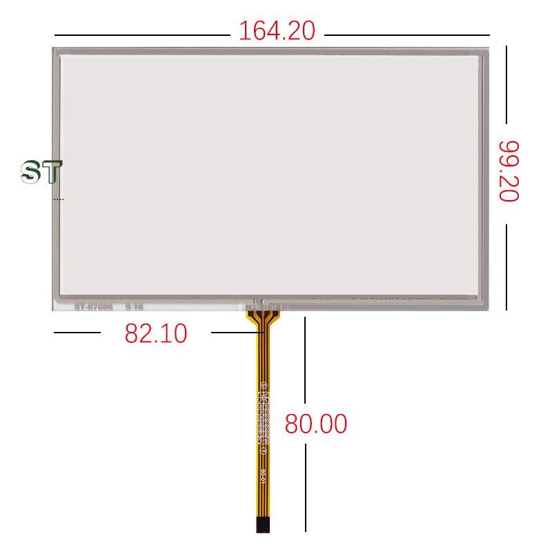 Nuevo original 7 pantalla táctil de la pulgada AT070TN92 90 AT070TN94 HSD070IDW1-D00E11 ST-07006 164.2*99.2