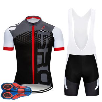 Koszulka kolarska odzież rowerowa Ropa Ciclismo 9D podkładka żelowa Rock rowerowa jednolita MTB odzież rowerowa odzież rowerowa czarna koszulka tanie i dobre opinie Koszulki Jazda na rowerze Unisex Oddychająca Anti-pot Szybkie suche Lycra Poliester Zamek na całej długości JERSEY Lato