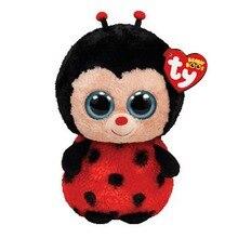 Ty Beanie Boos Stuffed Plush Animals Ladybug Doll Toys For Girls With Tag 6 15cm