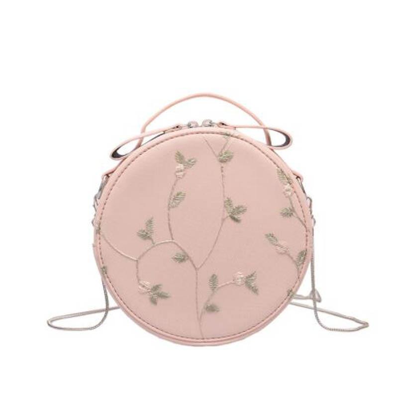 A Spalla Gray Dolce Rotonda Crossbody Messaggero Bag Viaggi Forma E Fiore Delle Modo Della Caramella Donne Estate Carino Ruique green Di Ragazze Colore pink Sacchetto Del qXwfpXz