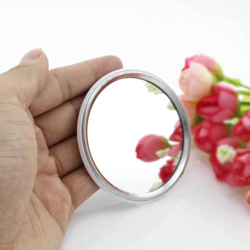 Jweijiao Hijau Pohon Seni Foto Dicetak Satu Sisi Mini Saku Cermin Perjalanan Dompet Cermin Cocok Dalam Tas Atau Makeup tas