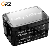 ORZ 3 Layers Japanese Bento Box Plastic Microwave Lunch Box Kids Picnic Camping Container For Food Storage Compartment Lunch Box