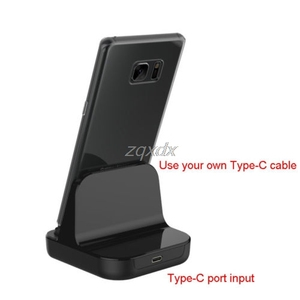 Image 2 - Type C Dock Charger Charging Desktop USB C 3.1 Cradle Station For Phone Jy19 19 Dropship
