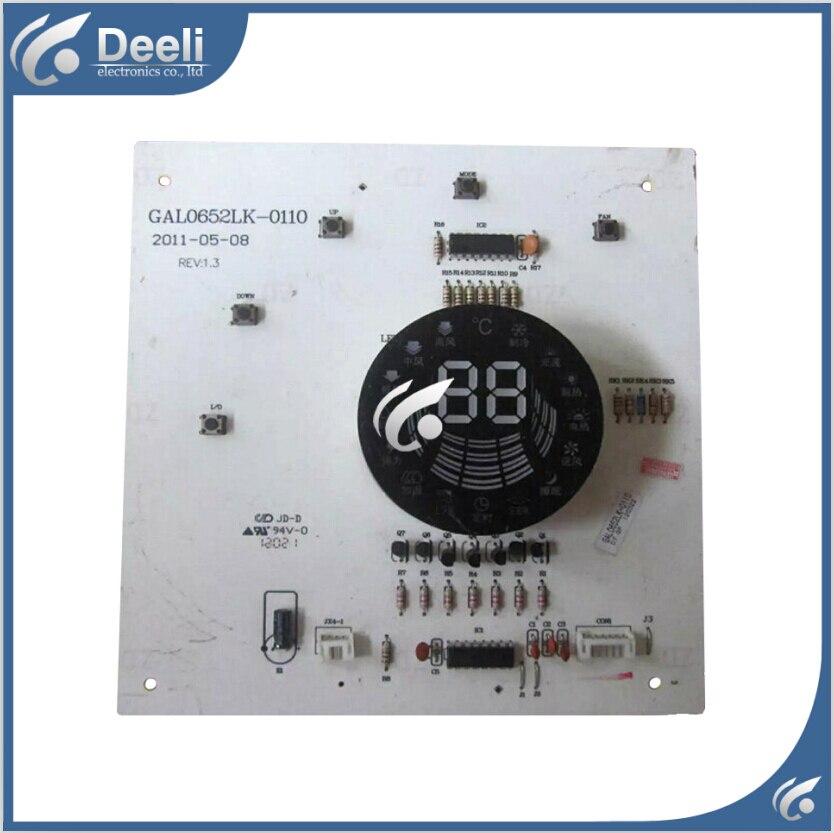 b34df4590 95% جديد عمل جيدة ل تكييف الهواء مجلس الكمبيوتر عرض تلقي لوحة  GAL0652LK-0110 مجلس
