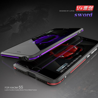 Luphie Two Color Design Metal Frame For XIAOMI5S 5S Plus Ultra Thin Luxury Bumper Phone Case